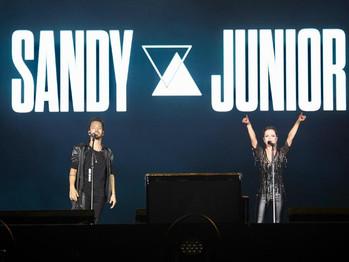 Sandy & Junior encerram turnê no RJ