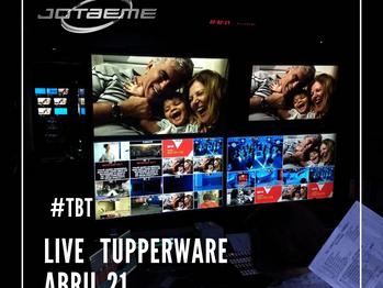 #tbt Live Tupperware - Apresentação de nova coleção em abril