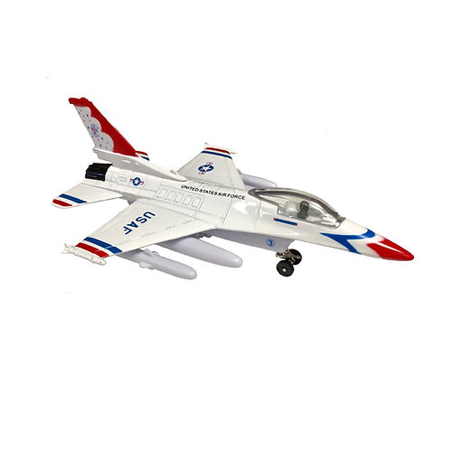 Pullback toy, Thunderbird F-16