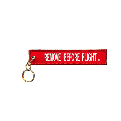 Keychain, Remove Before Flight