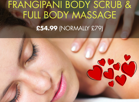 Valentine's Beauty Treatment Special Offers in Totnes