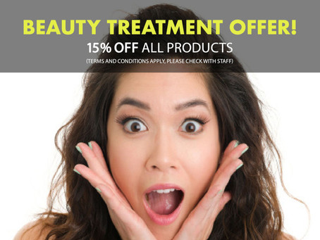 10% off beauty treatments on Tuesdays in Totnes*