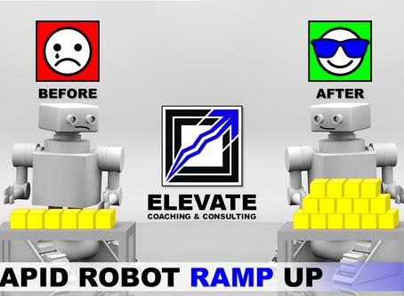 Rapid Robot Ramp Up
