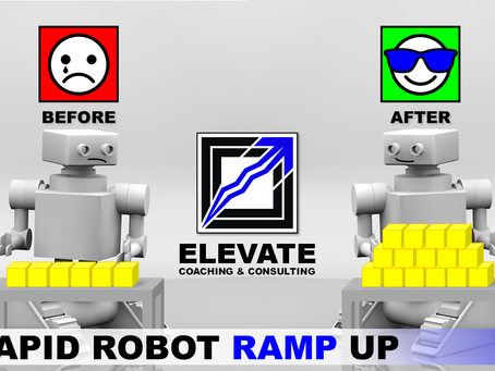 Rapid Robot Ramp Up