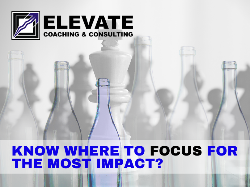 Elevate Coaching & Consulting | #elevateoutcomes #bottleneck #utilization #rapidimprovement #TLS #LeanSixSigma #TheoryofConstraints #bottomline