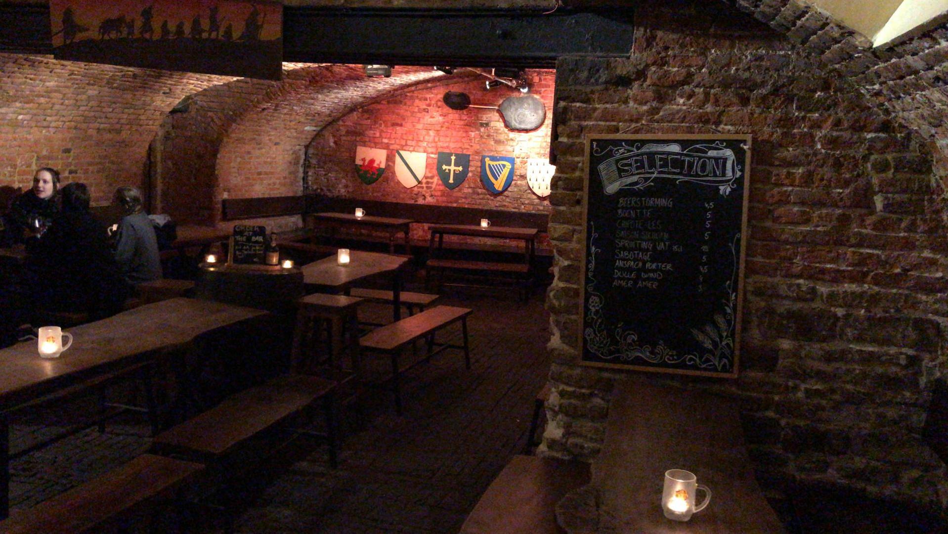 Gansbeek bière à la Porte Noire - Bruxelle