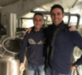 Brasseur Sebastien Cantineau et Luis Ametller