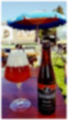 Wam spring day at Atéler34zéro drinking a Gansbek Blonde