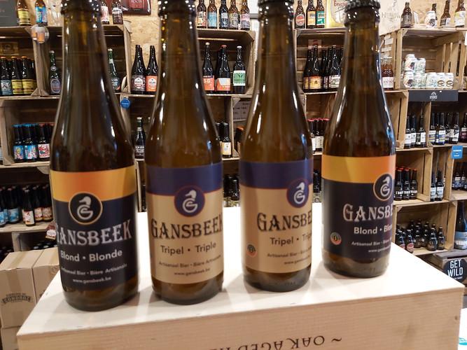 Bières Gansbeek au Belgopop