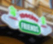 Вывеска в виде логотипа