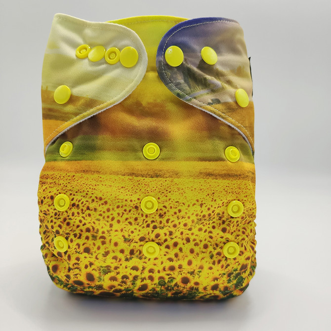 Sunflower Cow Front