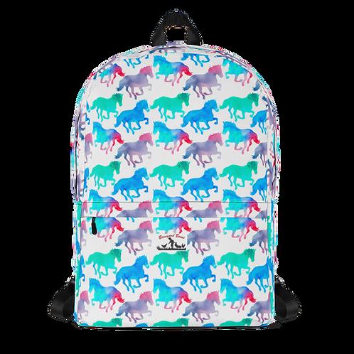 Blue Horses Backpack
