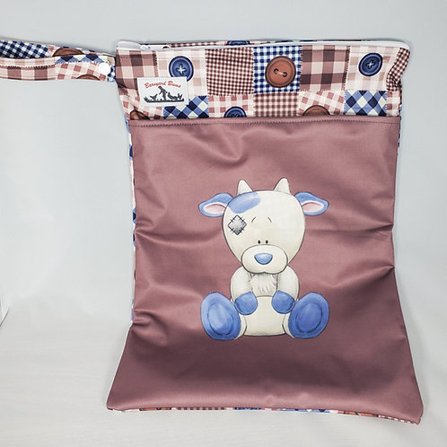 Round 13 Buttons Wet Bag