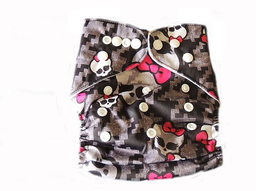 Pocket Cloth Diaper With Double Gussets - Jane Skully