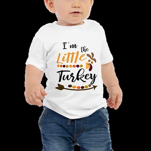 I'm The Little Turkey Baby Tee