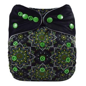 Green Mandala Front