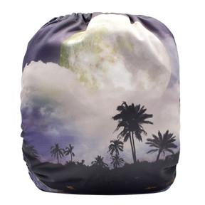 Moonlit Palms Back