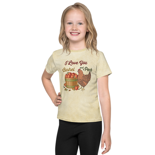 Bushel and a Peck Parchment Kids T-Shirt