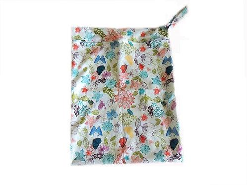 Wet Bag - Flowers and Butterflies