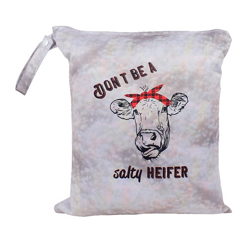 Round 14 Salty Heifer Wet Bag