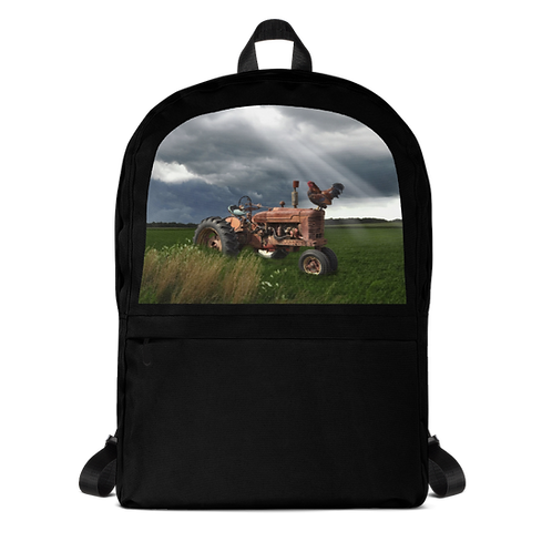 Red Tractor Backpack