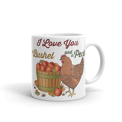 Bushel and a Peck Mug