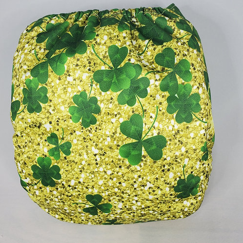Round 13 Cascading Clovers (on GLITTER!)