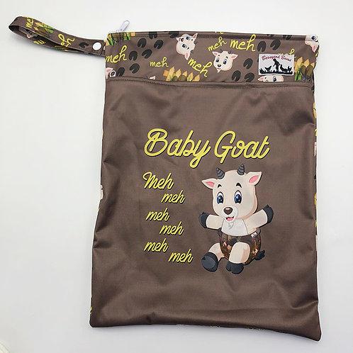 Round 10 Baby Goat WET BAG
