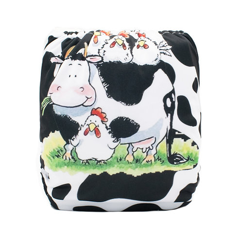 Round 3 Cow and Chickens