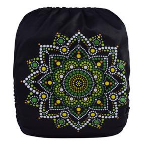 Green Mandala Back