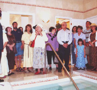 Mikvah Sarasota Dedication