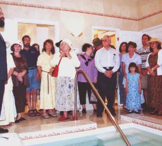 Mikvah Sarasota Dedication