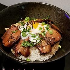 Pork belly bowl