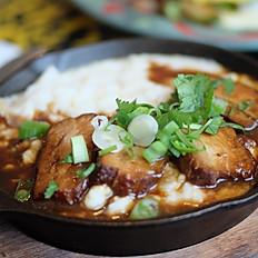 Pork belly & grits