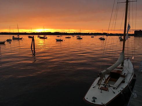 Bristol Harbor, Bristol, RI (edited)