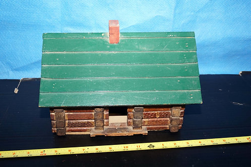 Wooden Log Cabin Toy