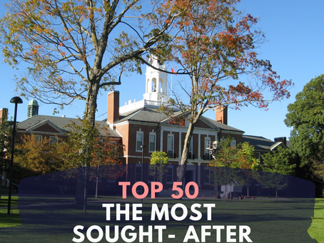 Top 50 The Most Sought-After Schools of 2020
