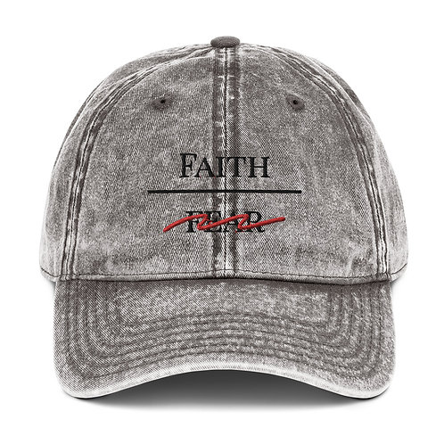 Faith Over Fear Twill Cap