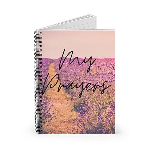 Lavender Fields Prayer Journal