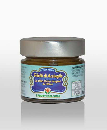 Anchovy fillets in extra virgin olive oil -100g