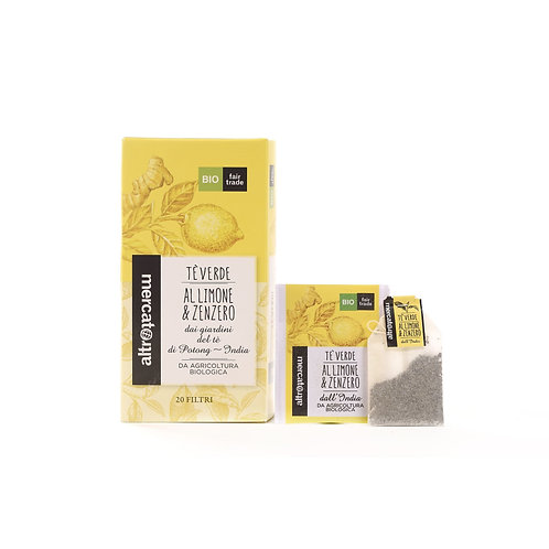Green Tea with Lemon&Ginger 20 filters