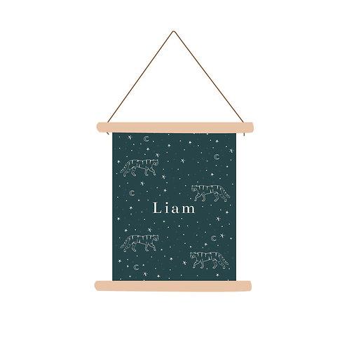 Textielposter Liam