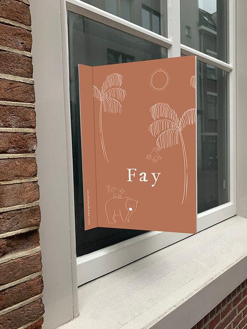 Geboortebord Fay