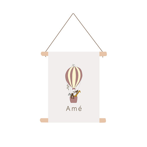 Textielposter Amé