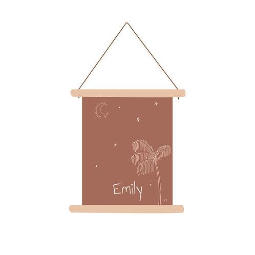 Textielposter Emily