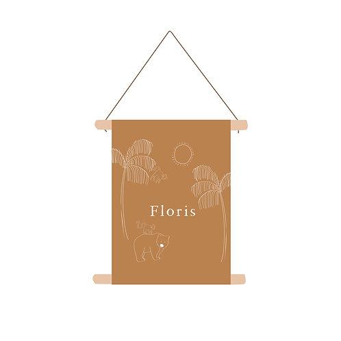 Textielposter Floris