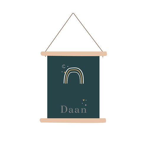 Textielposter Daan