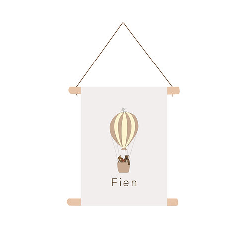 Textielposter Fien