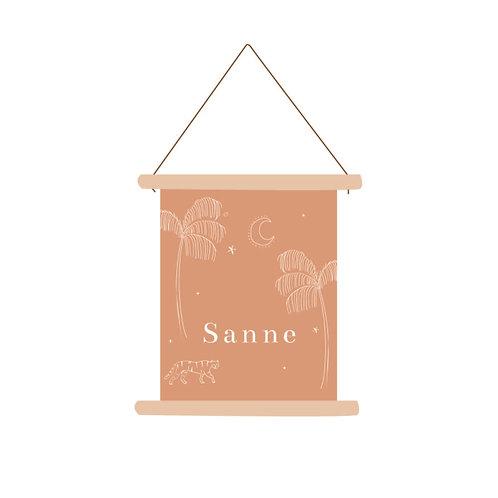 Textielposter Sanne