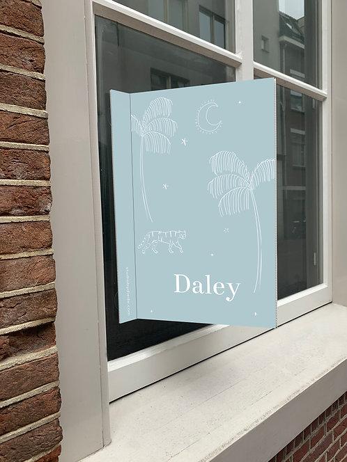 Geboortebord Daley